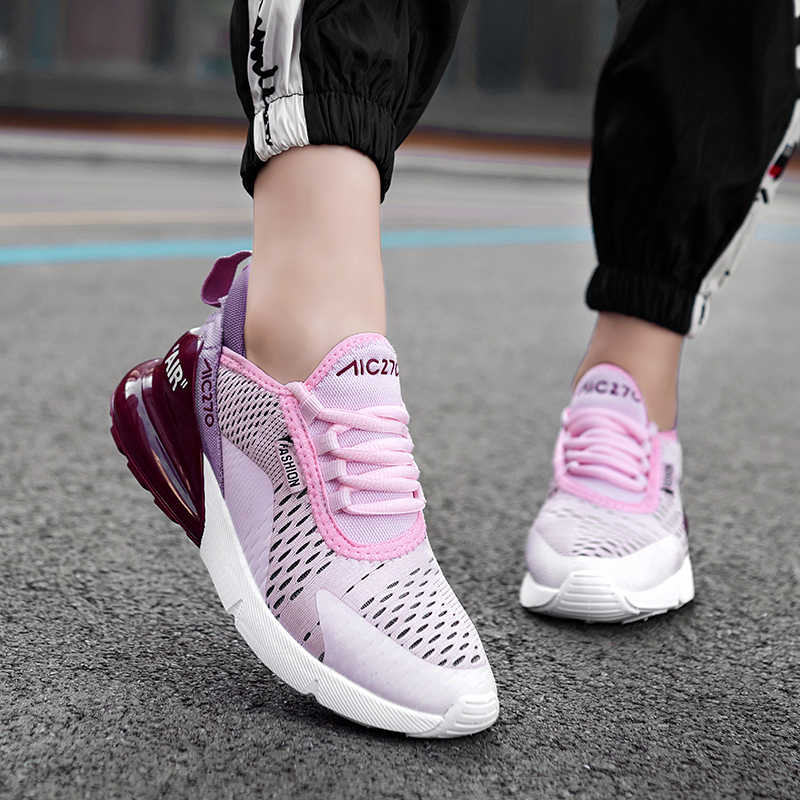 <font><b>Women</b></font> 2019 Light Weight Running Shoes For <font><b>Women</b></font> Sneakers <font><b>Women</b></font> <font><b>Air</b></font> Sole Breathable zapatos de mujer High Quality Sport Shoes image