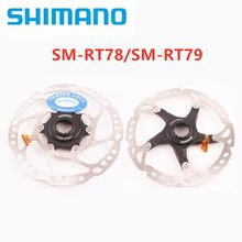 Shimano Deore XT SM-RT78 SM-RT79 Disc Centerline Center Lock 160mm RT79 Rotor Is Floating Structure Hot Good 1/2PCS Rotors(China)