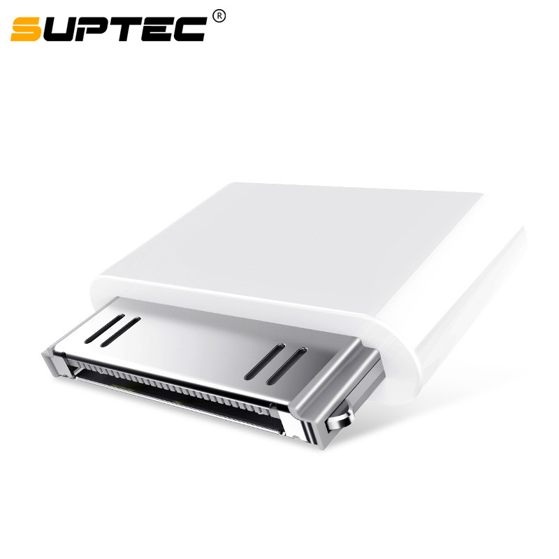 SUPTEC Micro Usb 30 Pin Female Male Connector Adapter For Apple Iphone 4 4s 3gs Ipod Iphone4 Iphone4s Converter Charging Cable