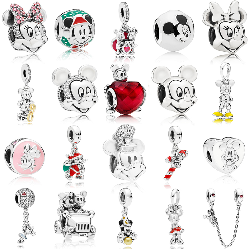 High-quality S925 Sterling Silver New Cartoon Fairy Tale Series Original Diy Fashion Jewelry Suitable For Popular Charm Bracelet