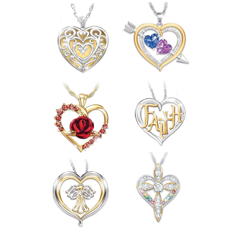 23mm Silver Heart Charm 12 Pack Jewellery Wedding Accessories