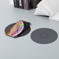 hot invisible fast true wireless charger up to 40mm away with qi wireless charger for long distance