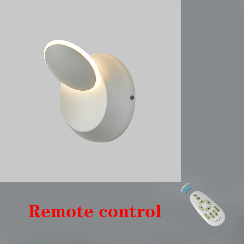 Modem LED wall lamp the lampshade rotates 360 degrees bedside light sittingroom lights