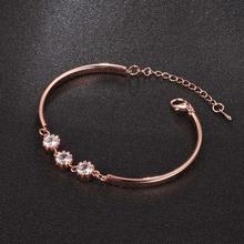 Pulsera Simple Vintage mujer pulsera de cobre decoración fiesta boda encanto joyería accesorio de decoración para regalo de mujer