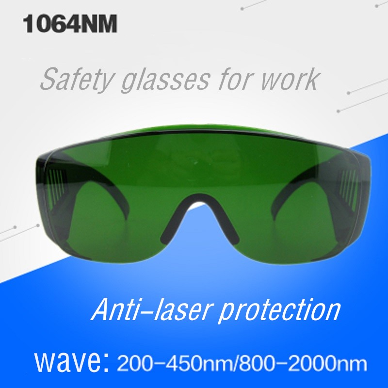 Safety Glasses for Work Anti laser Eye Protection 1064nm Laser Cutting Laboratory Cosmetic Instrument Purple Radium Carving|  - title=
