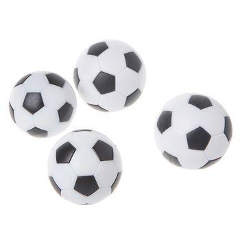 6 szt 32mm piłkarzyki do piłkarzyków Fussball akcesoria do maszyn piłkarskich dla dzieci tanie i dobre opinie OOTDTY CN (pochodzenie) Mini stół piłkarzyki Table Soccer Ball