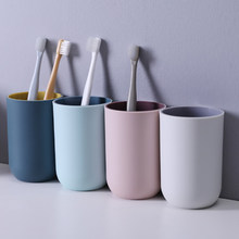 Simple Nordic Travel Portable Toothbrush Cup Bathroom Plastic Toothbrush Holder Storage Organizer Cup Bathroom Sets Bathroom Sup