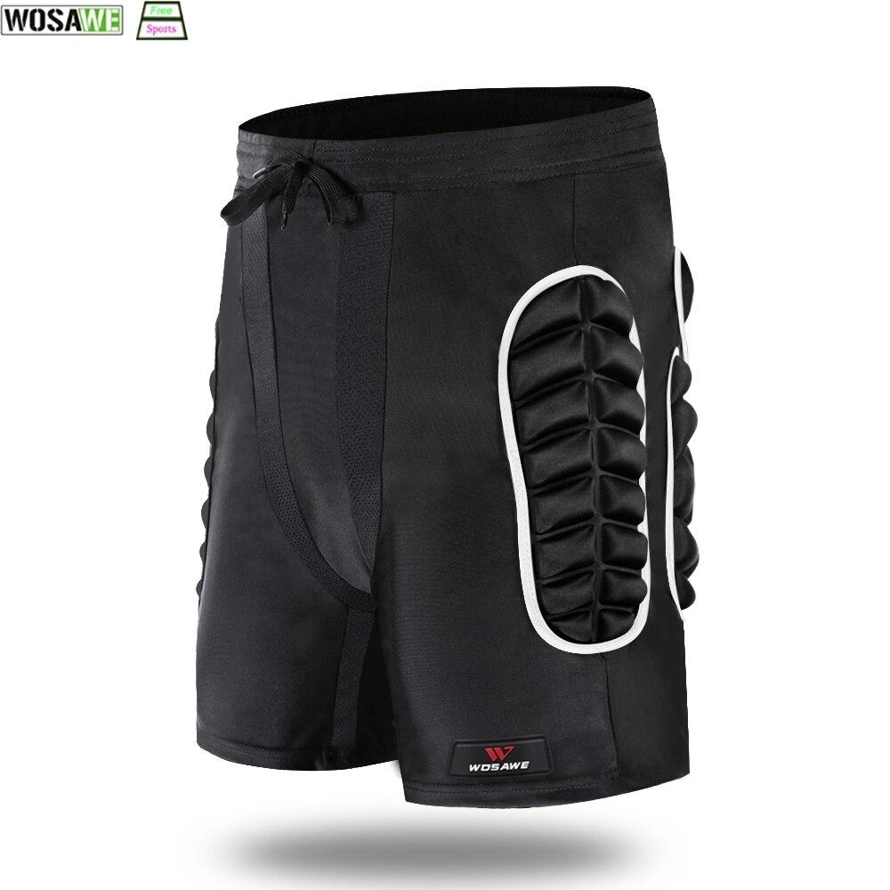 WOSAWE Outdoor Sports Bicycle MTB Shorts Hip Butt Pad Safety Protection Gear Skiing Skating Snowboarding Shorts Hip Protective