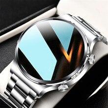 New Luxury Brand Smart Watch Men Steel band Waterproof Sport Fitness Heart Rate Bluetooth Call Smartwatch Man Women Android IOS