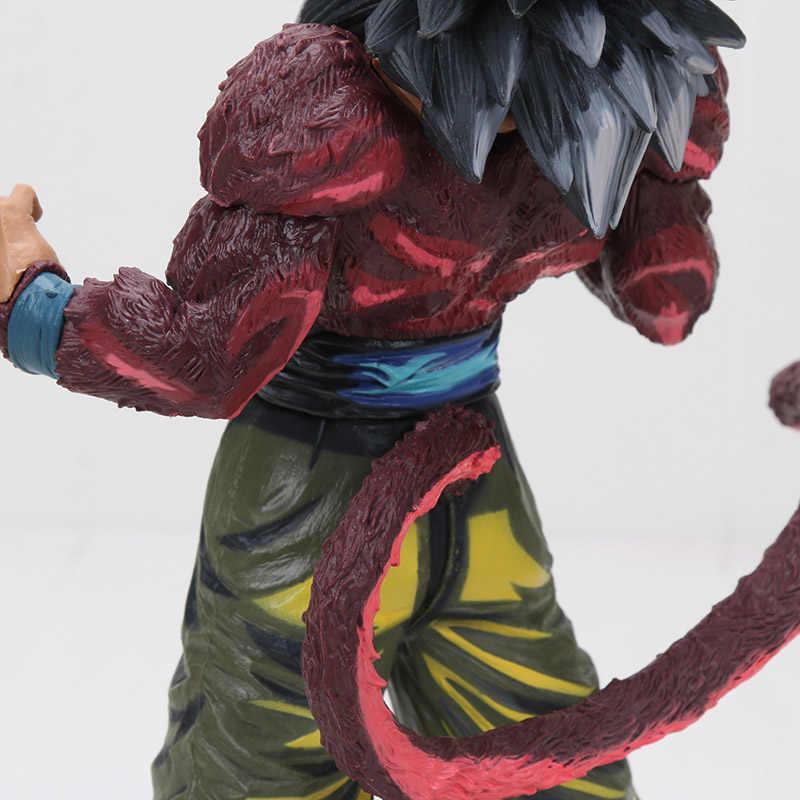 Anime Pintura Especial Cor 30CM GT O Filho De Dragon Ball Z Super Saiyan Goku PVC Action Figure Model Collection brinquedo de presente