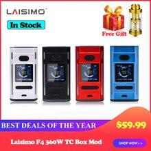 Laisimo F4 360W TC Doos Mod Kit aangedreven door 2/4 Batterijen Elektronische Sigaret Vape Mod met Gratis Verstuiver Tank vape Kit vs LUXE
