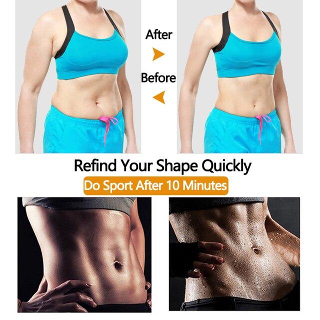 Polymer Waist Trainer Fitness Body Shaper Women Slimming Sheath Sweat Tummy TrimmerModeling Belt Sauna Corset Top Shapewear 5