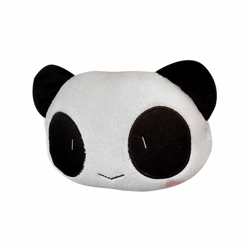 Cute Lovely Panda Neck Pillows 3D Style Head Rest Car Headrest Automobile Seat Covers Supplies for Auto Make Neck Comfortable Y7