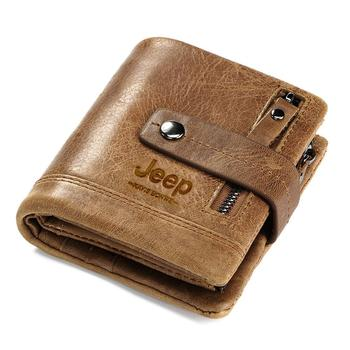 HUMERPAUL Genuine Leather Wallet Fashion Men Coin Purse Small Card Holder PORTFOLIO Portomonee Male Walet for Friend Money Bag 13