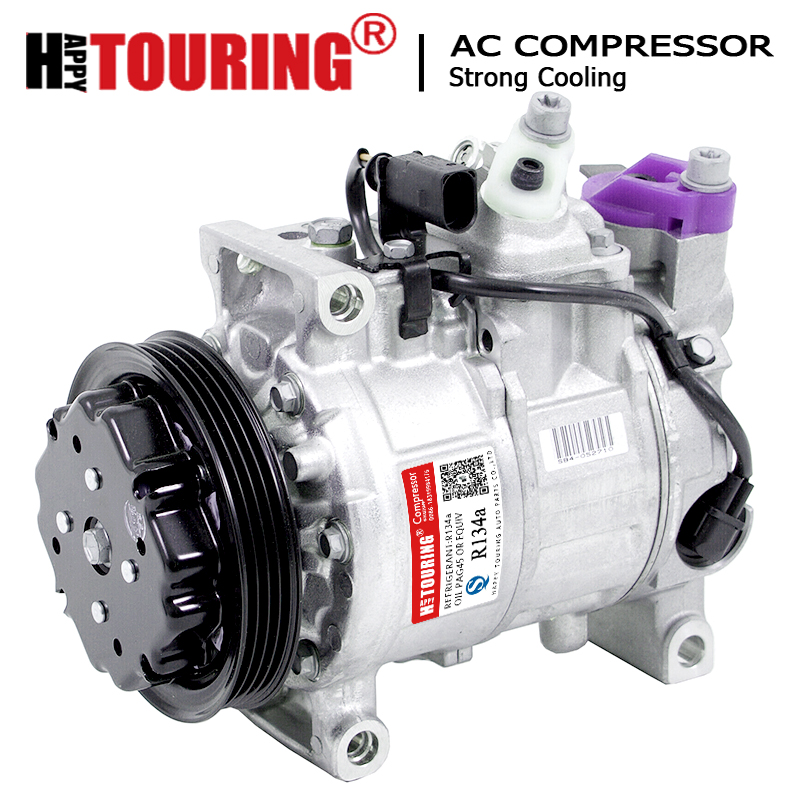 For <font><b>Audi</b></font> air conditioning compressor <font><b>Audi</b></font> A4 8E B6 <font><b>2.5</b></font> <font><b>TDI</b></font> 4B0260805J 8E0260805BH 8E0260805BN 8E0260805C 8E0260805R 6SEU12C 4PK image