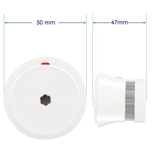 Image 2 - CPVan 3pcs/Lot Smoke Detector 10 Year Battery CE Certified EN14604 Listed Fire Detector Wireless Smoke Sensor for Home Security
