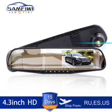 Camcorder Car-Dvr-Camera Rearview-Mirror Digital-Video-Recorder Dash-Cam Registratory