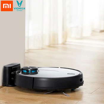 Mi Robot 560ml water tank Wet Mopping Xiaomi Pro VIOMI V2 Smart Vacuum Cleaner With Mijia App EU Plug clean robot aspirator with wet dry mopping water tank time schedule auto recharge smart cleaner seebest d730 momo 2 0