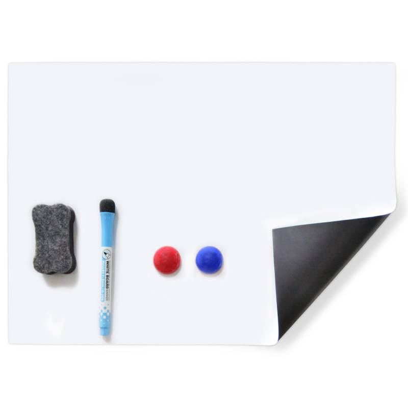 A3 Soft Magnet Whiteboard Multifunction Magnetic Board Dry Erase Drawing Recording Board For Fridge Refrigerator Life Supplies