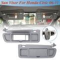 Автомобильный солнцезащитный козырек LHD  солнцезащитный козырек  1 шт.  Солнцезащитный антиослепляющий козырек с лампой  Стайлинг для Honda Дл...