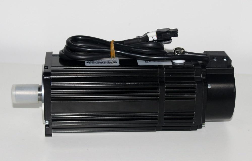 H0fdeafd01b034f37bedb4a61506e3e4fS - 80st-M04025 1KW Servo motor with brake for Z axis 4Nm 2000rpm motor brake servo motor 1KW AC220v 1phase Lichuan servo