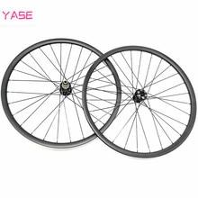 Комплект колес YASE 29er из углеродного волокна для горного велосипеда, Размеры 35x25 мм