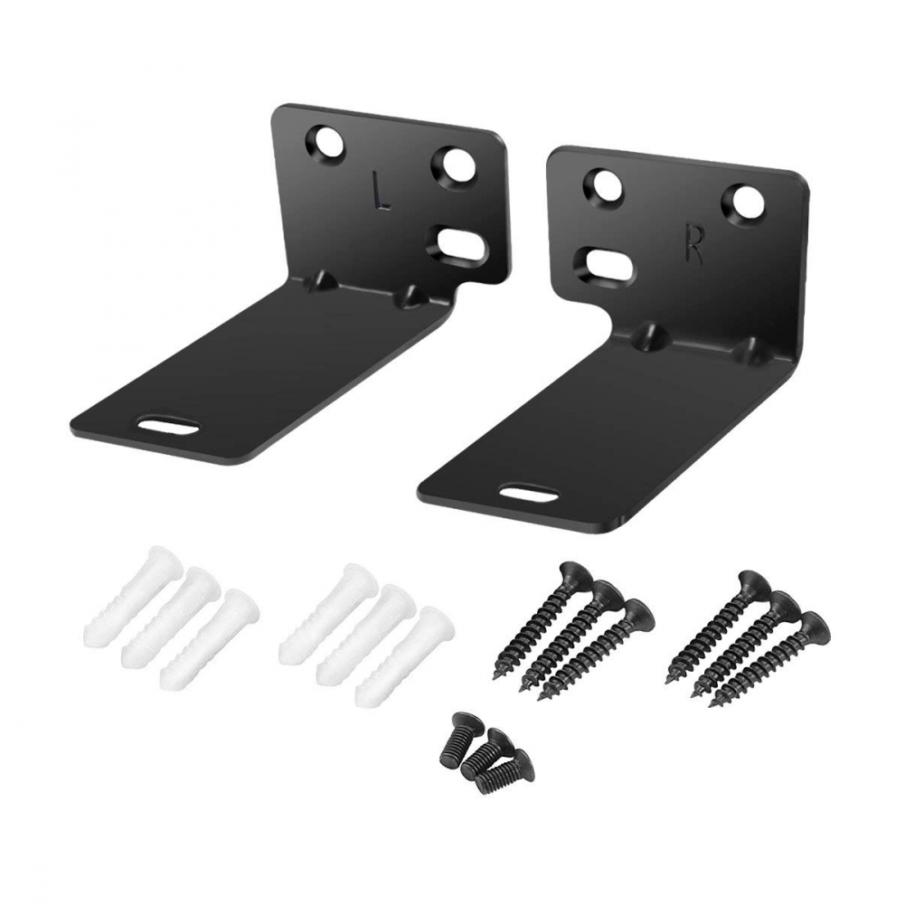 Durable Home Wall Mount Accessories Hanging Office Holder Easy Install Speaker Bracket Stand Steel For BOSE Soundbar 300