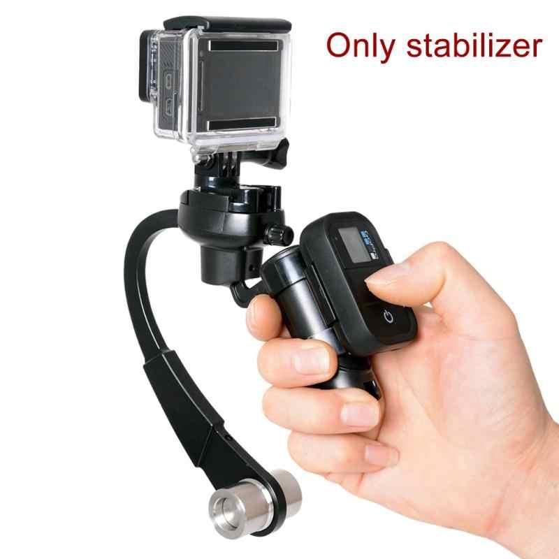 מיני כף יד Gimbal מחזיק מצלמה מייצב אנטי להחליק שחרור מהיר להפחית רטט מקצועי מצלמה תמיכה ללכת פרו