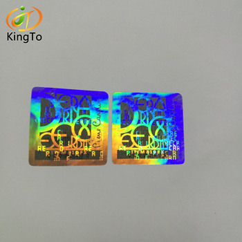 Custom multi-layers anti-counterfeiting security labels hologram sticker