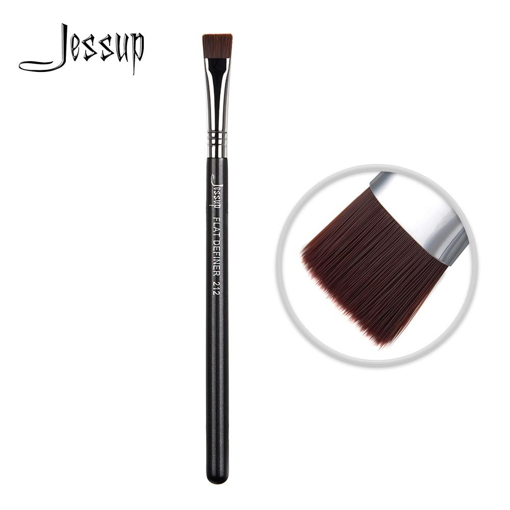 Подводка для глаз Jessup, Кисть для макияжа, волокно для волос, жидкий крем для пудры 212