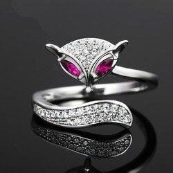 Женское кольцо из серебра 925 пробы, с бриллиантами