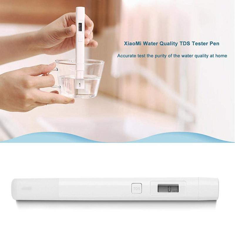 High Accurate Original Xiaomi <font><b>mi</b></font> <font><b>TDS</b></font> Tester Water Quality Meter Tester Pen Water Measurement Tools image