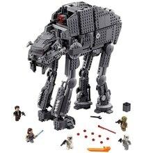 05130 Совместимые модели Legoinglys 75189 75251 Звездные войны, тяжелые штурмовые ходунки, строительные блоки, Подарочные игрушки для детей
