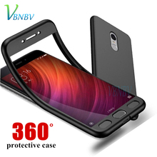 VBNBV 360 Full Cover Silicone Phone Case for Xiaomi