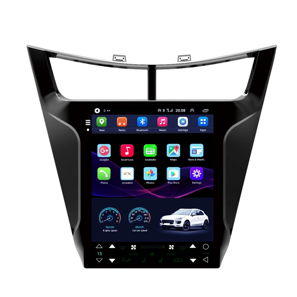 9.7 Tesla style Screen android 8.1 GPS car radio for CHEVROLET SAIL car multimedia with 4g lte wireless Network 2015 2016 2017 image