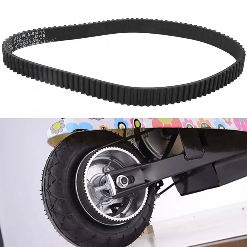 5M-535-15 Mini Electric Scooter Timing Belt Thick Belt  Black Rubber Durable Scooter Accessory