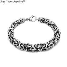 Stainless steel bracelet men's Bracelet Gift men, personalized bracelet, hip-hop rock personalized retor paint bracelet