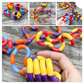 Neue Farbe Zappeln Anti Stress Spielzeug Twist Erwachsene Dekompression Spielzeug Kind Verformung Seil Perfekte Für Stress Kinder Spielen Spielzeug Zappeln