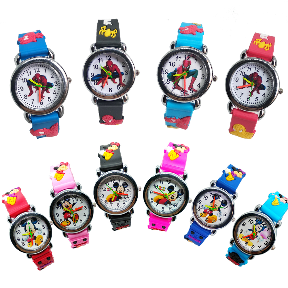 2020 New Arrival 3D Cartoon Anime Design Kid Watch Children Students Clock Kids Watches Child Boys Girls Watch Quartz Wristwatch
