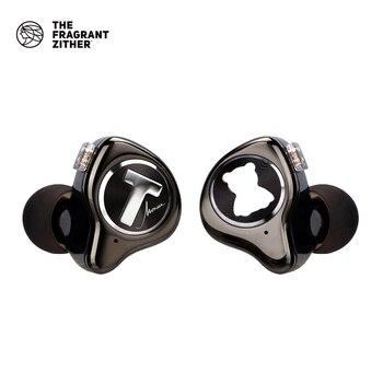 Auriculares TFZ MONICA limit Hifi, auriculares con movimiento circular en la oreja con interfaz de 2 pines, diseño desmontable de auriculares estéreo en la oreja