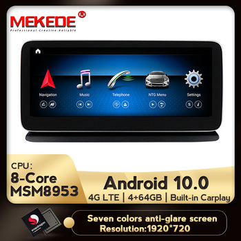 4G LTE NEW Android 10 8 Core 4+64G Car dvd radio multimedia Player GPS Navigation for Mercedes Benz CLS Class W218 2011-2017