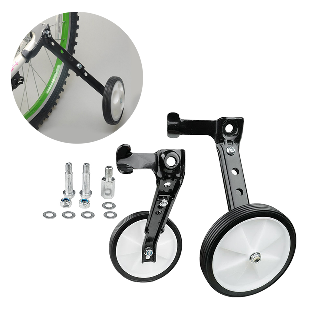 Child Bike Training Wheel 16-24/'/' Bicycle High Strength Stabilizer Basket Decor