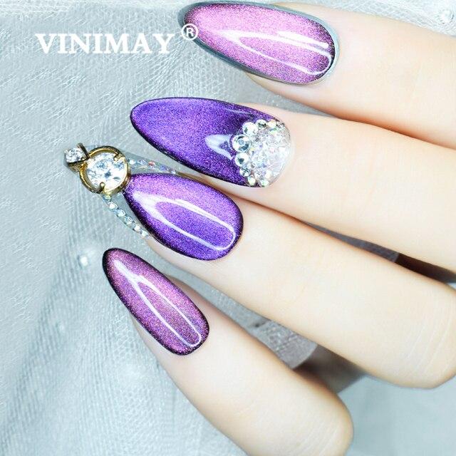 VINIMAY 6D Cat Eye Gel Polish Gel Nail Polish Varnish Nail UV Soak Off Gellak Gelpolish Nail Art Primer Manicure Gel Lacque 4