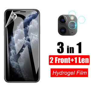 3 in 1 Tempered Glass For iPhone 12 Pro Max 12 Mini 11 Pro Max Glass Camera Lens Screen Protective For iPhone 12 pro 12 mini 12
