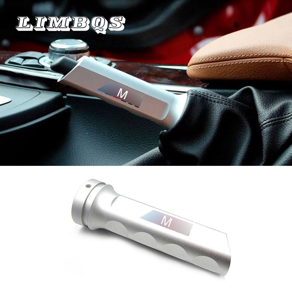 Hand Brake Cover For Bmw F10 F11 F20 F30 F02 G01 G20 G11 Aluminum Alloy Gear Shift Collars Handbrake Sleeve Case Anti Slip