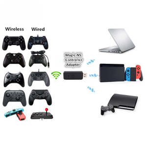 Image 5 - Magic NS USB Wired Bluetooth Gamepad Controller for Switch NS PS3 PC4 XboxOne S Xbox360 Converter Adapter
