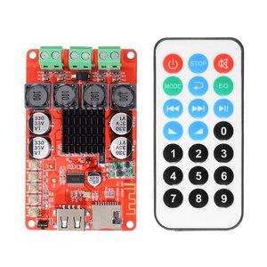 Image 1 - Стерео динамики TPA3116, усилители 2X50W, bluetooth аудио приемник, усилитель, tf карта, декодер с пультом дистанционного управления