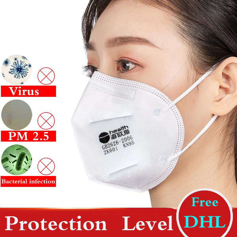 KN95 Face Mask Ffp2 Mascherine Masks N95 Masque Anti Dust Protective Dustproof PM2.5 Free Shipng DHL CE Mark FDA Certificate