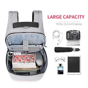 Image 2 - تيجيرنو مكافحة سرقة موضة حقائب الظهر النسائية اليومية كلية حقيبة مدرسية للفتيات المراهقات 15.6 بوصة محمول على ظهره Mochila