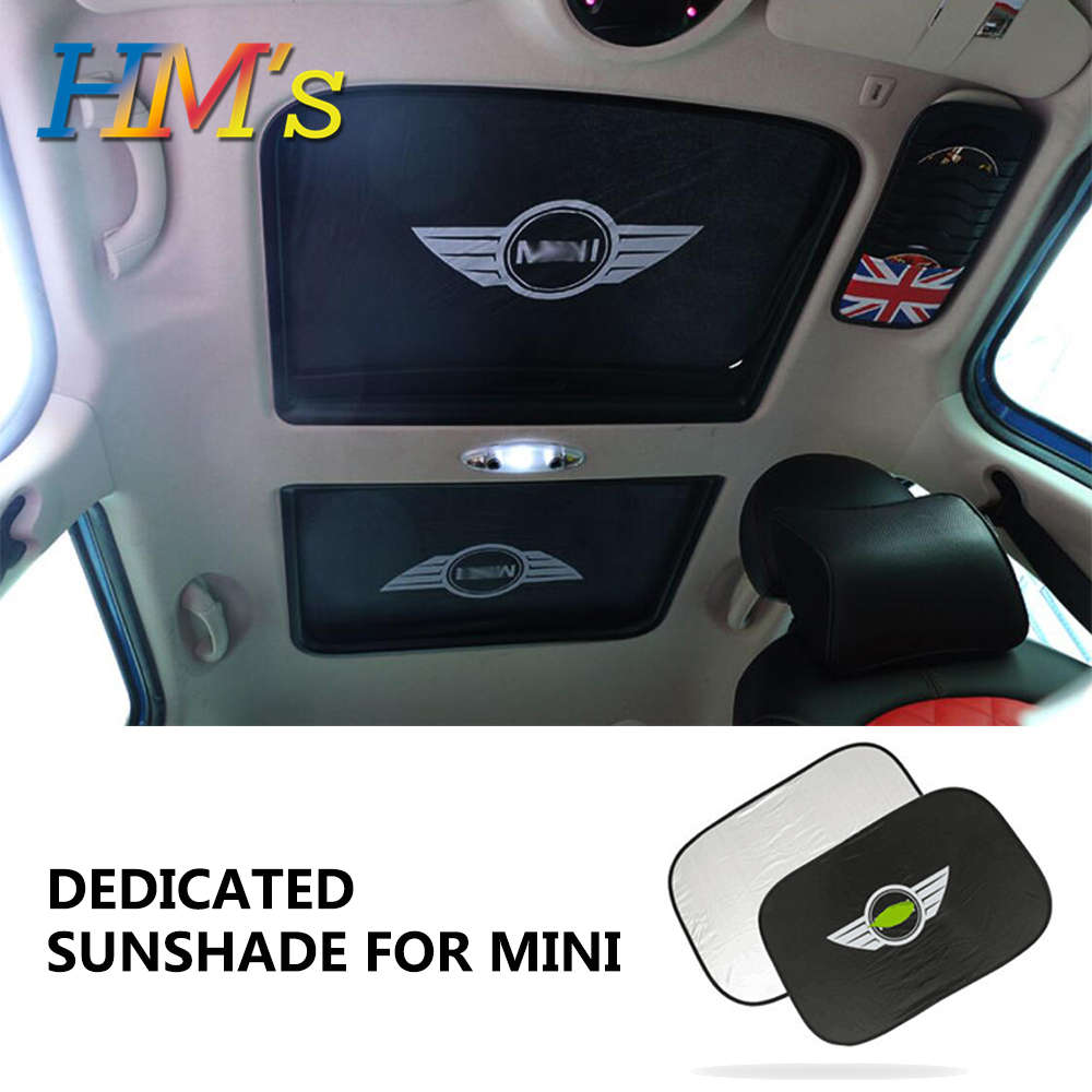 For MINI Cooper Countryman F60 Car Sun Visor Sunshade For MINI JCW One Cooper S R50 R52 R53 R55 R56 R60 R61 F54 F55 F56 F57 F60